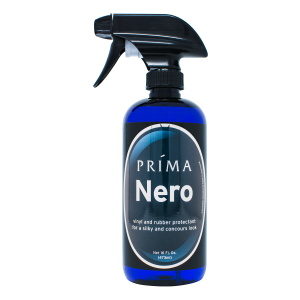 One bottle of Prima Car Care product is displayed with a blank background
